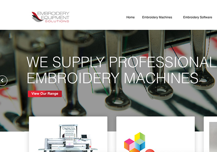 Embroidery Equipment Solutions
