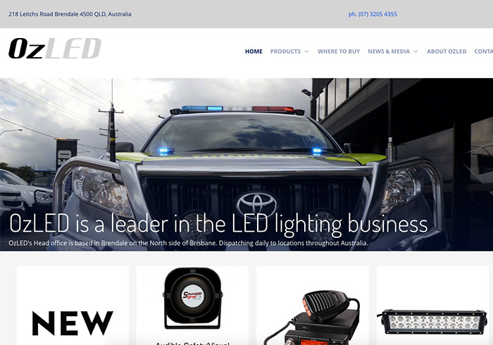 OzLED is a recognized leader in the LED lighting business in Australia